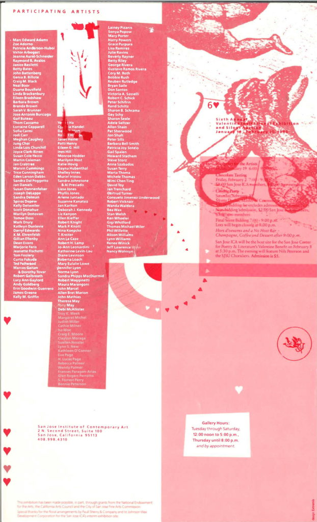 <i> Sixth Annual Valentine Exhibition and Auction</i>