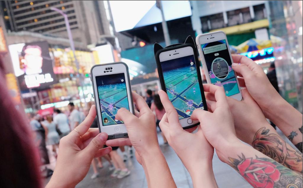Nintendo debuts Pokémon Go