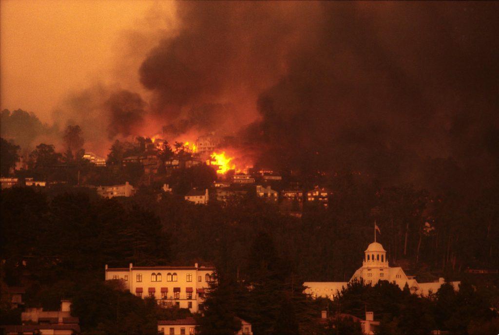 Oakland Hills Firestorm