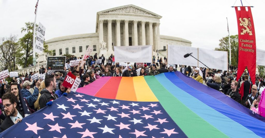 Same-Sex Marriage Legalized